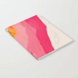 Abstract Line Shades Notebook