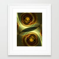 infinity Framed Art Prints featuring Infinity by Klara Acel