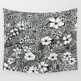 Dots In The Wind Wall Tapestry