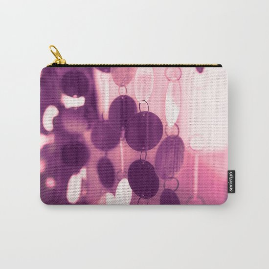 GLAM CIRCLES #Pink/Purple #1 Carry-All Pouch