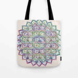 1 Billion Dollars Geometric Tan Tote Bag
