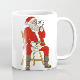 Santa Claus Vaping Coffee Mug