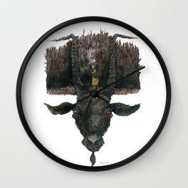 Black Phillip Live Deliciously Wall Clock
