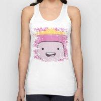 princess bubblegum Tank Tops featuring Princess Bubblegum by Some_Designs
