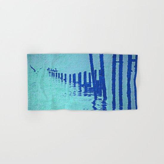 OCEAN BLUE Hand & Bath Towel