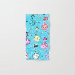 Flower Orbs Hand & Bath Towel