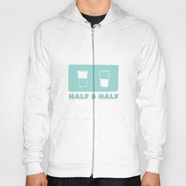 half & half Hoody