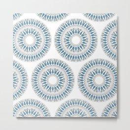 Ornament pattern Metal Print