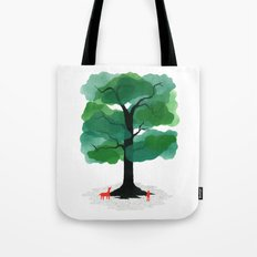 Man & Nature - The Tree of Life Tote Bag