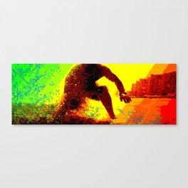 Surf Stance Canvas Print