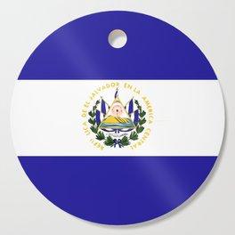 El Salvador flag emblem Cutting Board