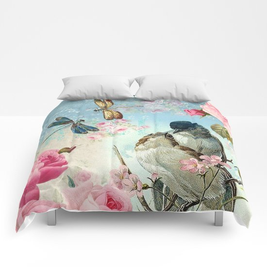 Dragonflies & bird Comforters