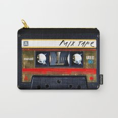 classic retro Gold mix cassette tape iPhone 4 4s 5 5c, ipod, ipad, tshirt, mugs and pillow case Carry-All Pouch
