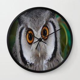 aztec owl  , aztec owl  games, aztec owl  blanket, aztec owl  duvet cover Wall Clock