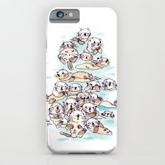 Wild family series - Otters iPhone 6s Slim Case