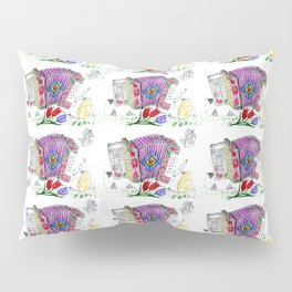 Decorative accordion Pillow Sham