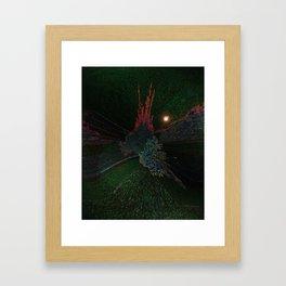 Autumn fantasy Framed Art Print