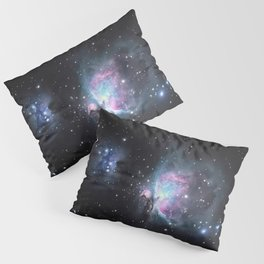Great Orion Nebula M42, in the constellation of Orion, Milky Way Pillow Sham