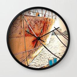 Nantucket Lightship, Boston Wall Clock