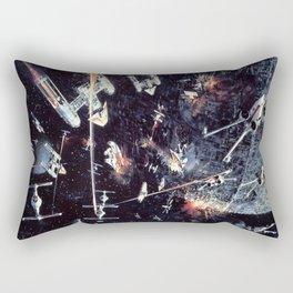 Concept Space Battle (Supplemental) Rectangular Pillow