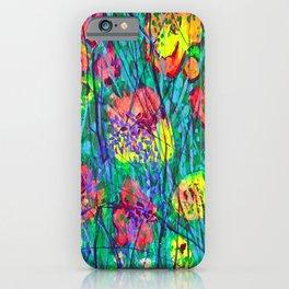 Hidden Flowers iPhone Case