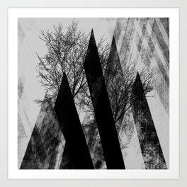 TREES V2 Art Print