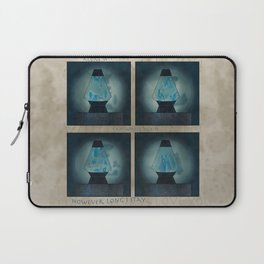 A Moment in Time (Blue) Laptop Sleeve