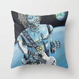 Floataciousgroovy Throw Pillow