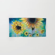 Supermassive Sunflowers Hand & Bath Towel