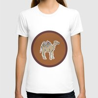 camel T-shirts featuring camel by johanna strahl