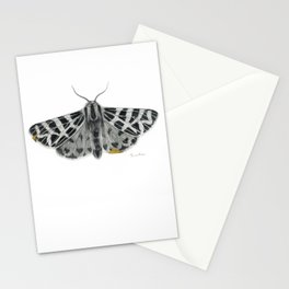 Kintsugi - A Graphite Drawing of a Moth by Brooke Figer Stationery Cards