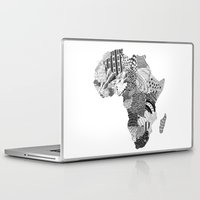 africa Laptop & iPad Skins featuring Africa by Kacenka