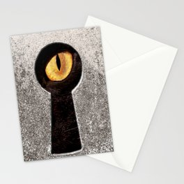 Peeping Tom... Cat Stationery Cards
