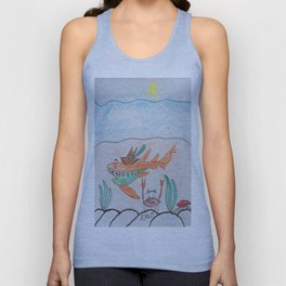 Bottom Dwellers Unisex Tank Top