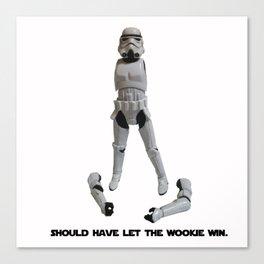 Loser Wookie Canvas Print