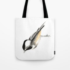 Sweet Chickadee Tote Bag