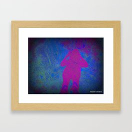 2 become 1 Framed Art Print