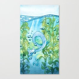 dragon lake Canvas Print