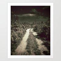 Purgatory Road Art Print