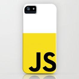 Javascript (JS) iPhone Case