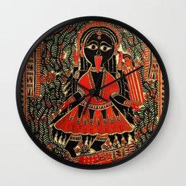 Hindu Kali 16 Wall Clock
