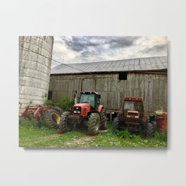 International Harvesters Metal Print