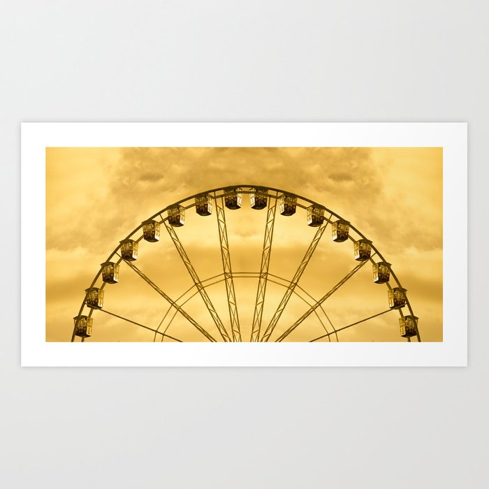 Carnival Cryptography Art Print