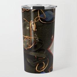 Blue Panel collection Travel Mug