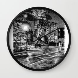 Pottergate Arch Wall Clock
