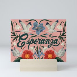 Esperanza (Hope in Spanish) Mini Art Print