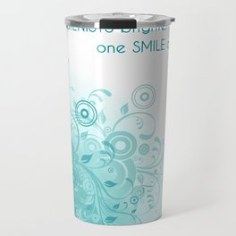 HYGIENISTS brighten the day one SMILE at at time Travel Mug
