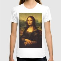 mona lisa T-shirts featuring Mona Lisa by steinhauer studio