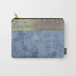 Blue Egypt Carry-All Pouch