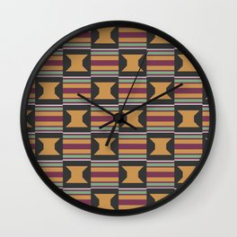 kente Wall Clock